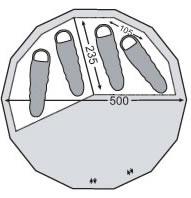 Alfheim 19.6 Zip-in-Floor(アルフェイム19.6ジップインフロア)