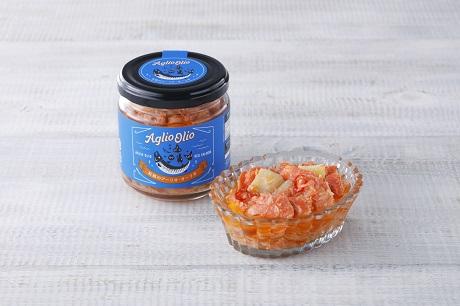 紅鮭のアーリオ・オーリオ