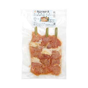 串鶏肉のぬか漬け 3本×3袋