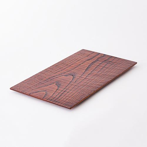 【三種町産品】木皿 長方形 大型