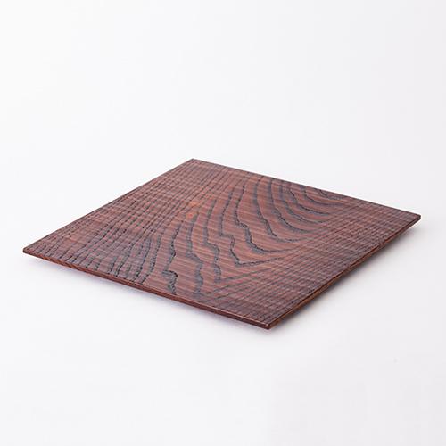 【三種町産品】木皿 正方形