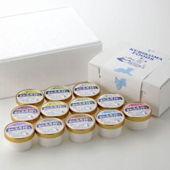 栗駒高原搾りアイス12個セット