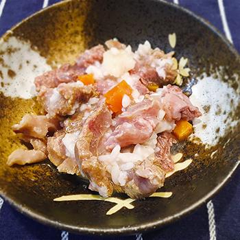 【ドックフード】桜田馬肉雑炊<野菜入り>