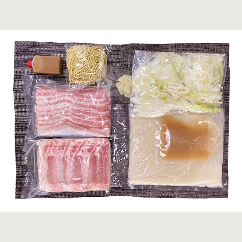 秋田のブランド桃豚しゃぶしゃぶセット