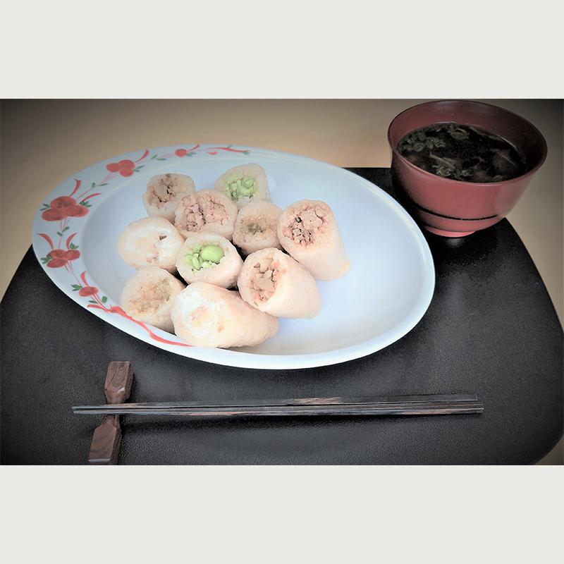 こまちスティック(冷凍食品8本詰め合わせセット)和の枝豆(2本)味どり(2本)いぶりがっこクリームチーズ(2本)いぶりがっこ(2本)