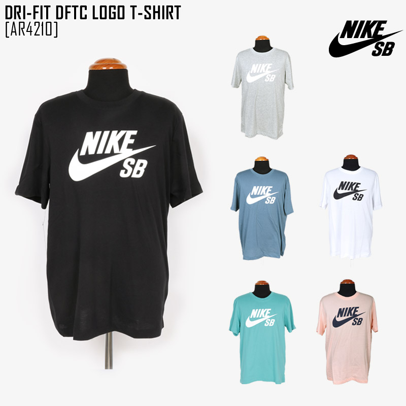 セール NIKE SB ナイキ SB Tシャツ メンズ DRI-FIT DFTC LOGO T-SHIRT 半袖 AR4210