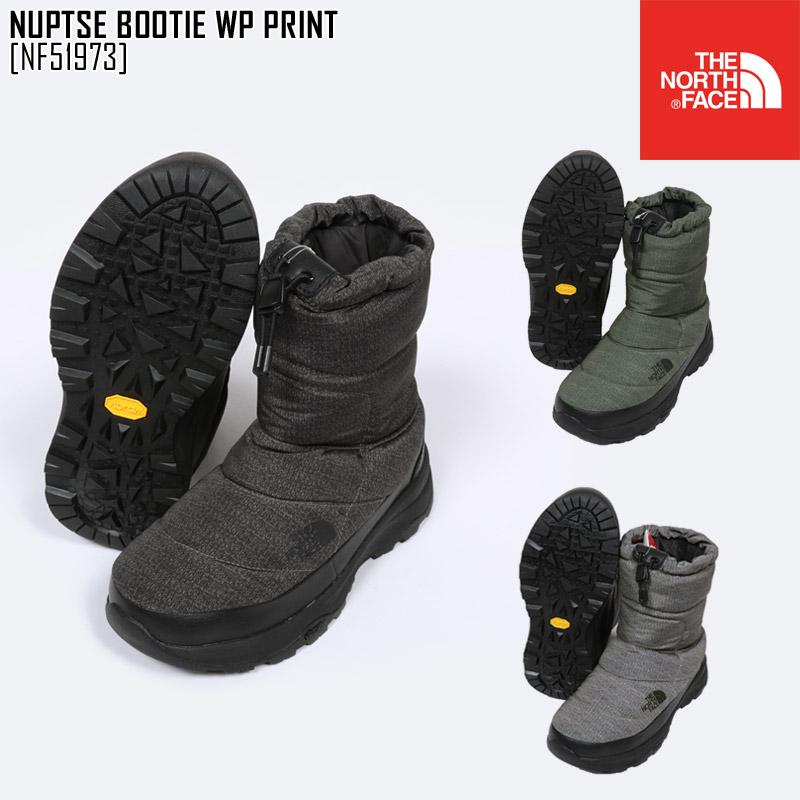 セール ノースフェイス スノーブーツ メンズ レディース ヌプシブーティー NUPTSE BOOTIE WP PRINT スノーシューズ アウトドアブランド NF51973