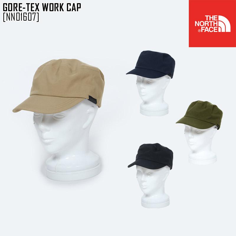 セール THE NORTH FACE ノースフェイス ゴアテックス ワークキャップ GORE-TEX WORK CAP 帽子 NN01607 メンズ レディース