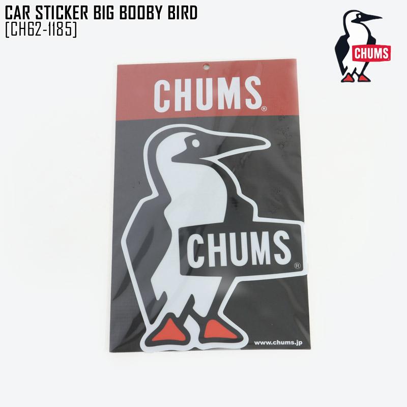 セール CHUMS チャムス カー ステッカー CAR STICKER BIG BOOBY BIRD シール CH62-1185