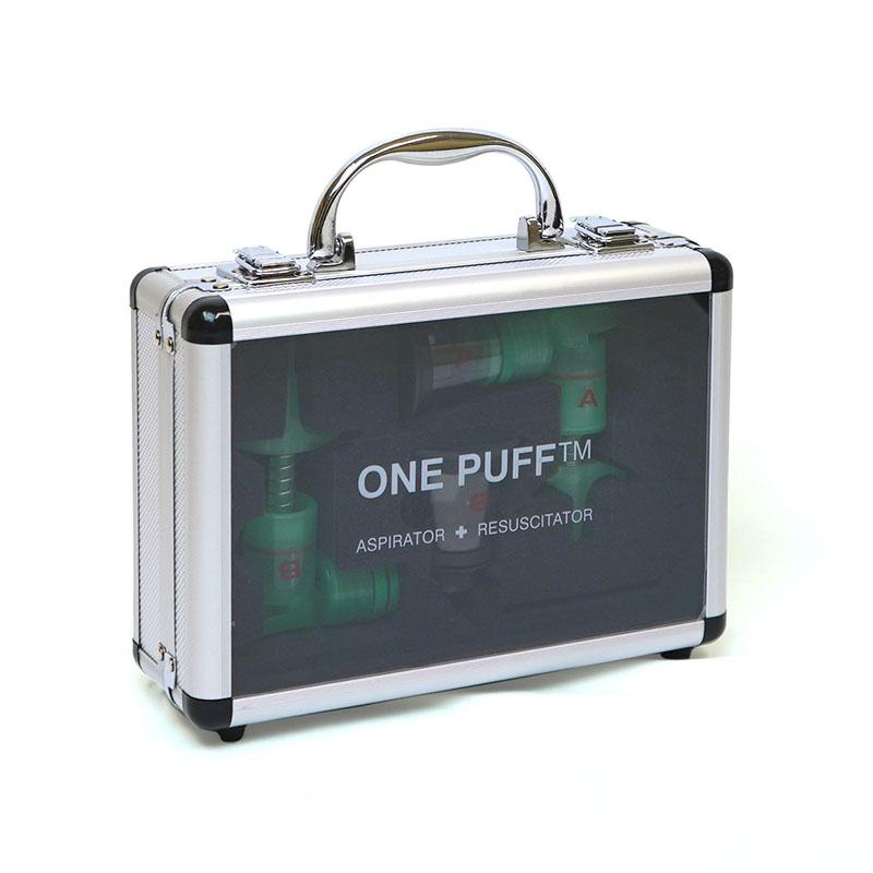 """OnePuff"" 仔犬・仔猫用人工呼吸器キット"