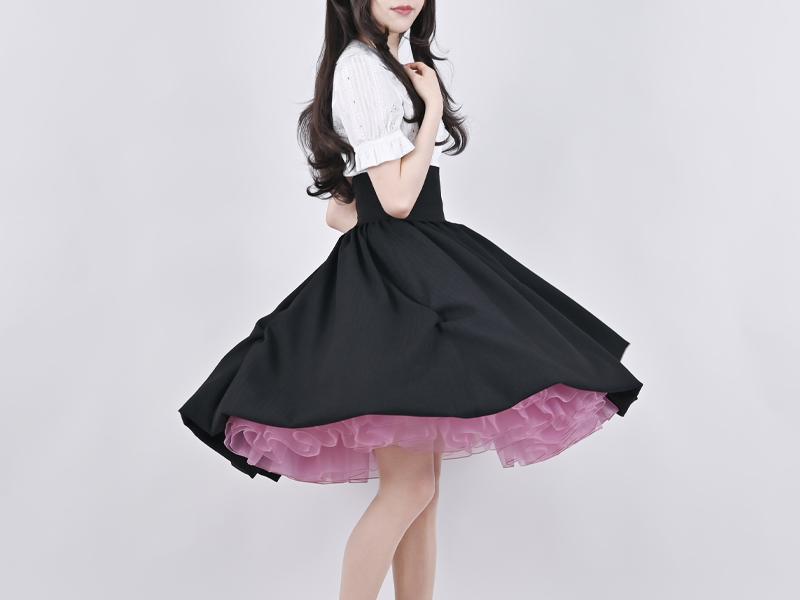 【プレミアム】運命のパニエ ダマスクローズ