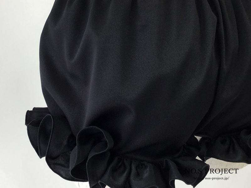 フリルミニペチコート ブラック