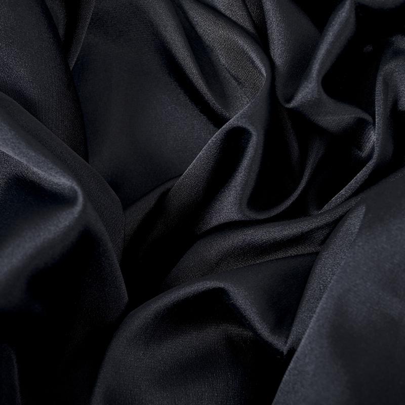 ロイヤルサテンブラウス ブラック