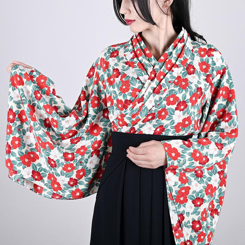袴スカート ネイビー