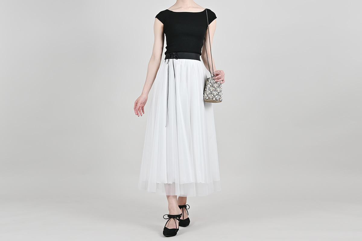シルフィード・スカート ピュアホワイト