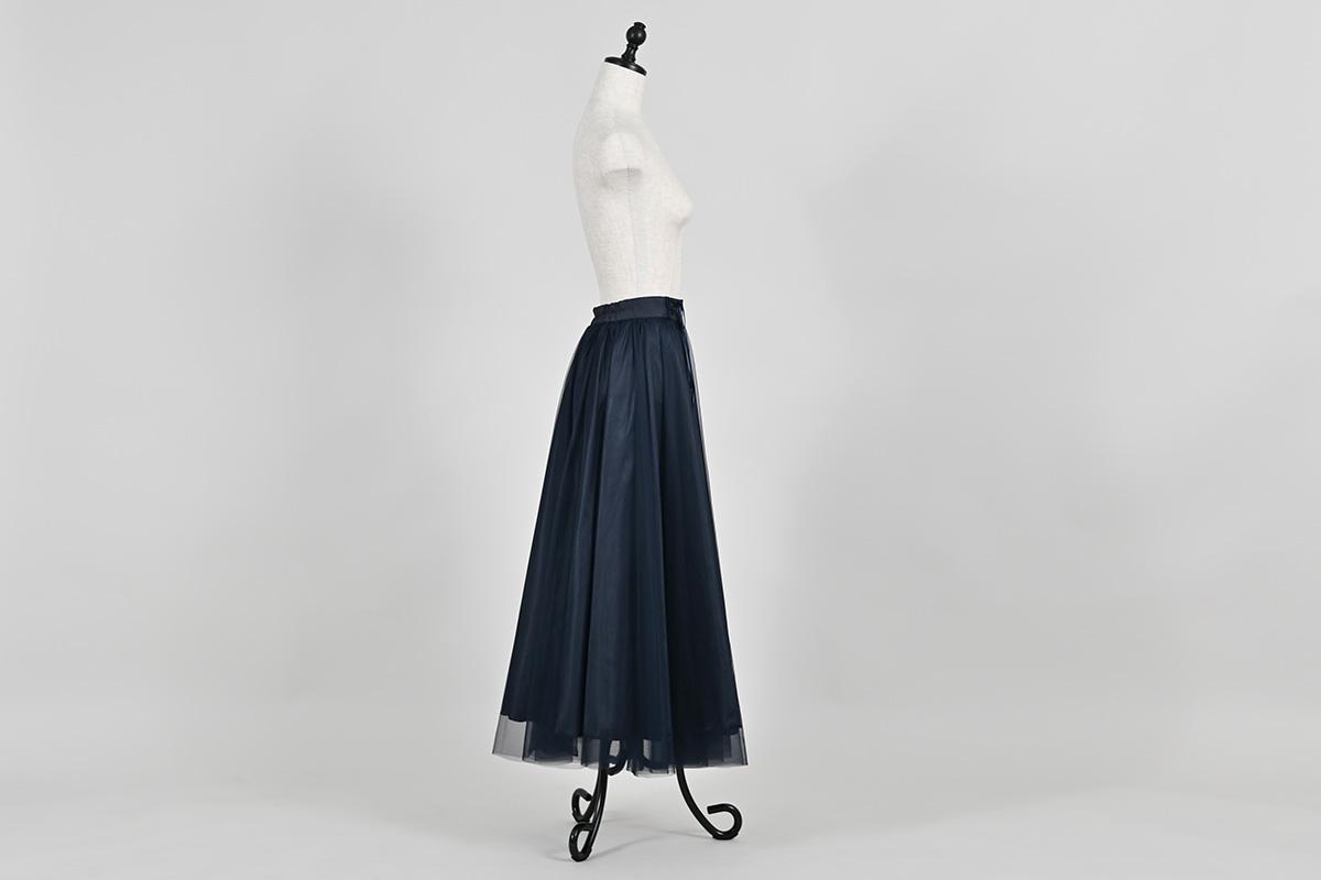 シルフィード・スカート ナイトネイビー