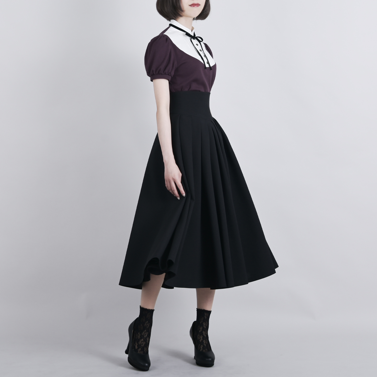 ジゼル・スカート ブラック