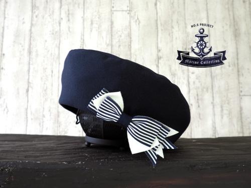 大人のマリンベレー帽