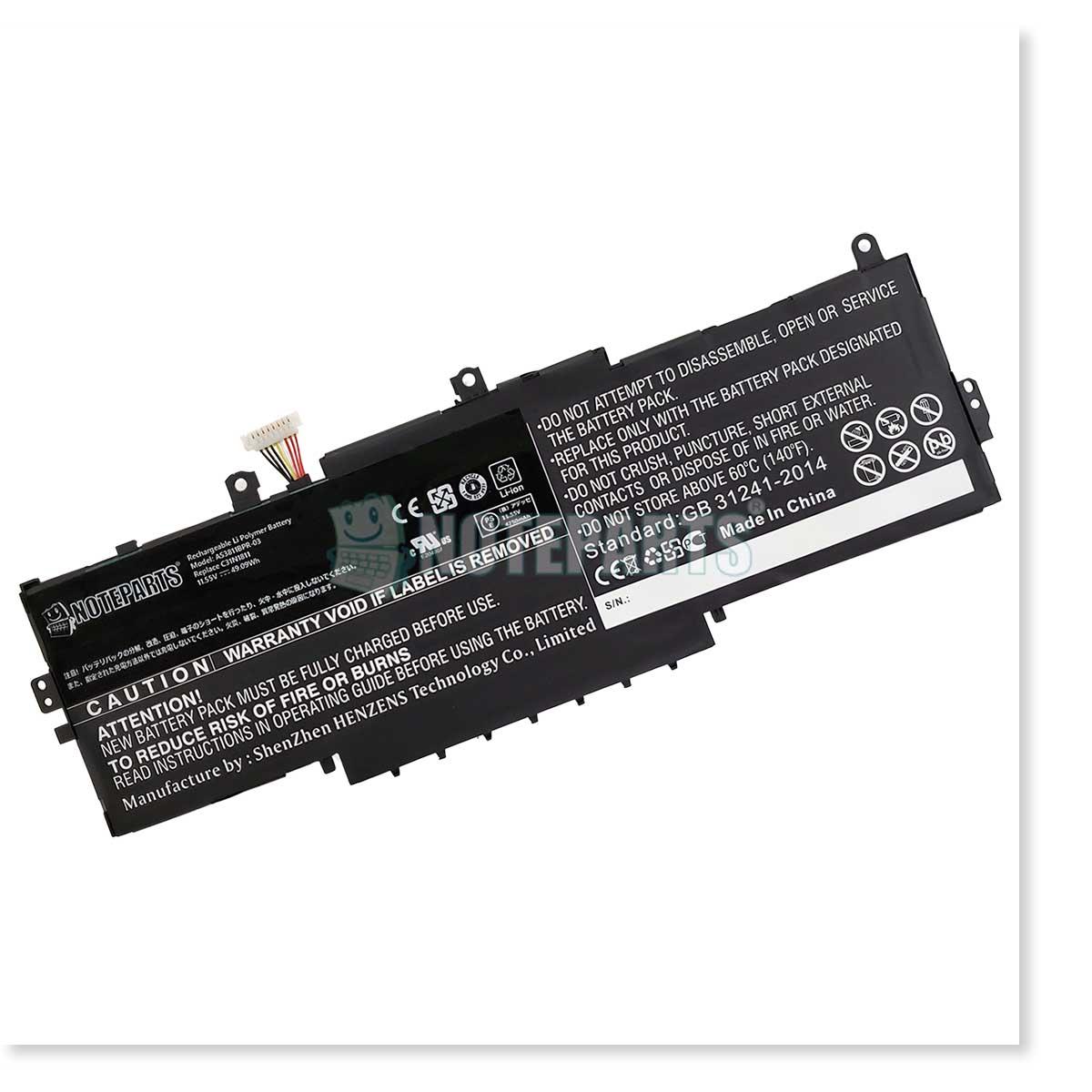 Asus エイスース ZenBook 14 UX433FA UX433FN バッテリー C31N1811対応