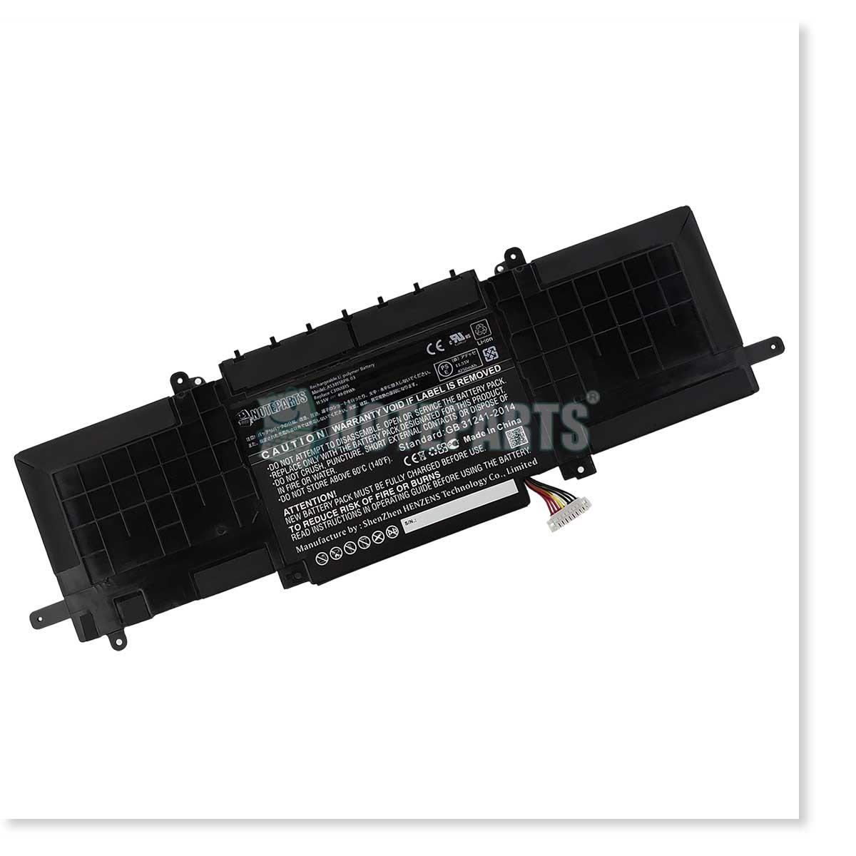 Asus エイスース ZenBook 13 UX333FA バッテリー C31N1815対応