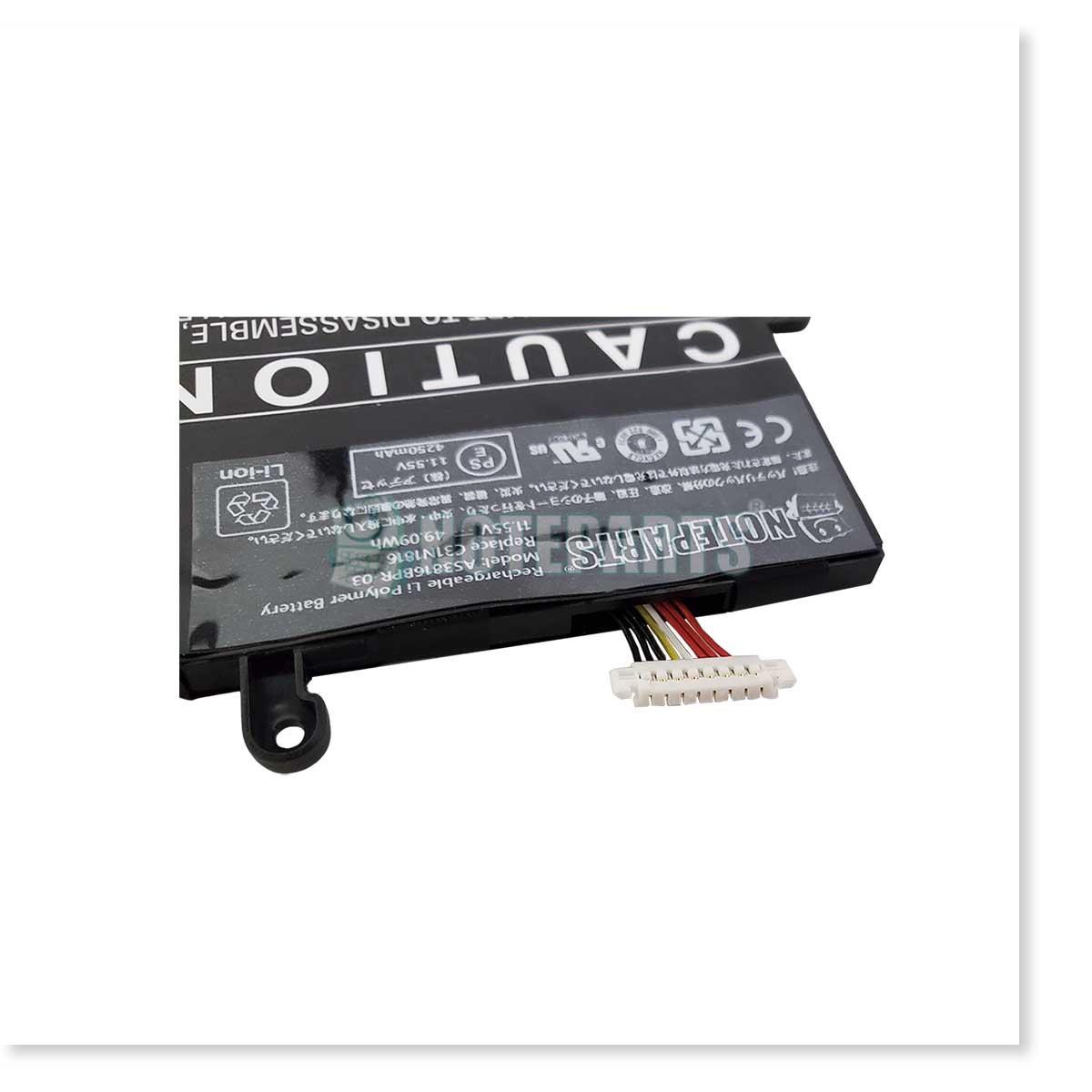 Asus エイスース VivoBook 13 S330FA S330UA バッテリー C31N1816対応