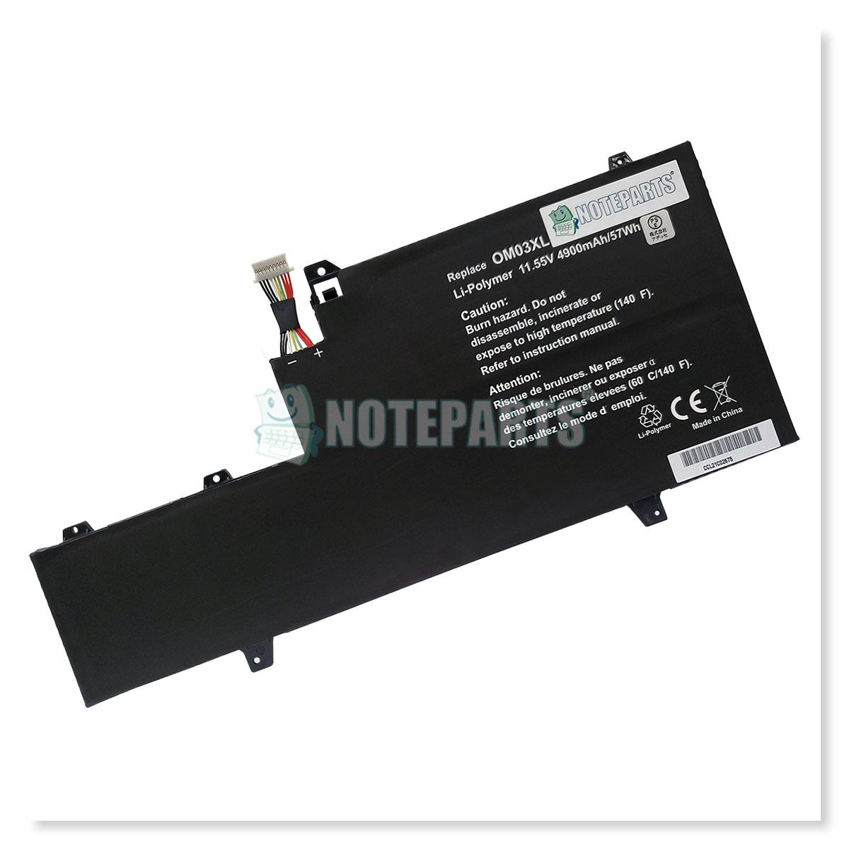 HP EliteBook x360 1030 G2 バッテリー 863167-171 863280-855 OM03XL対応