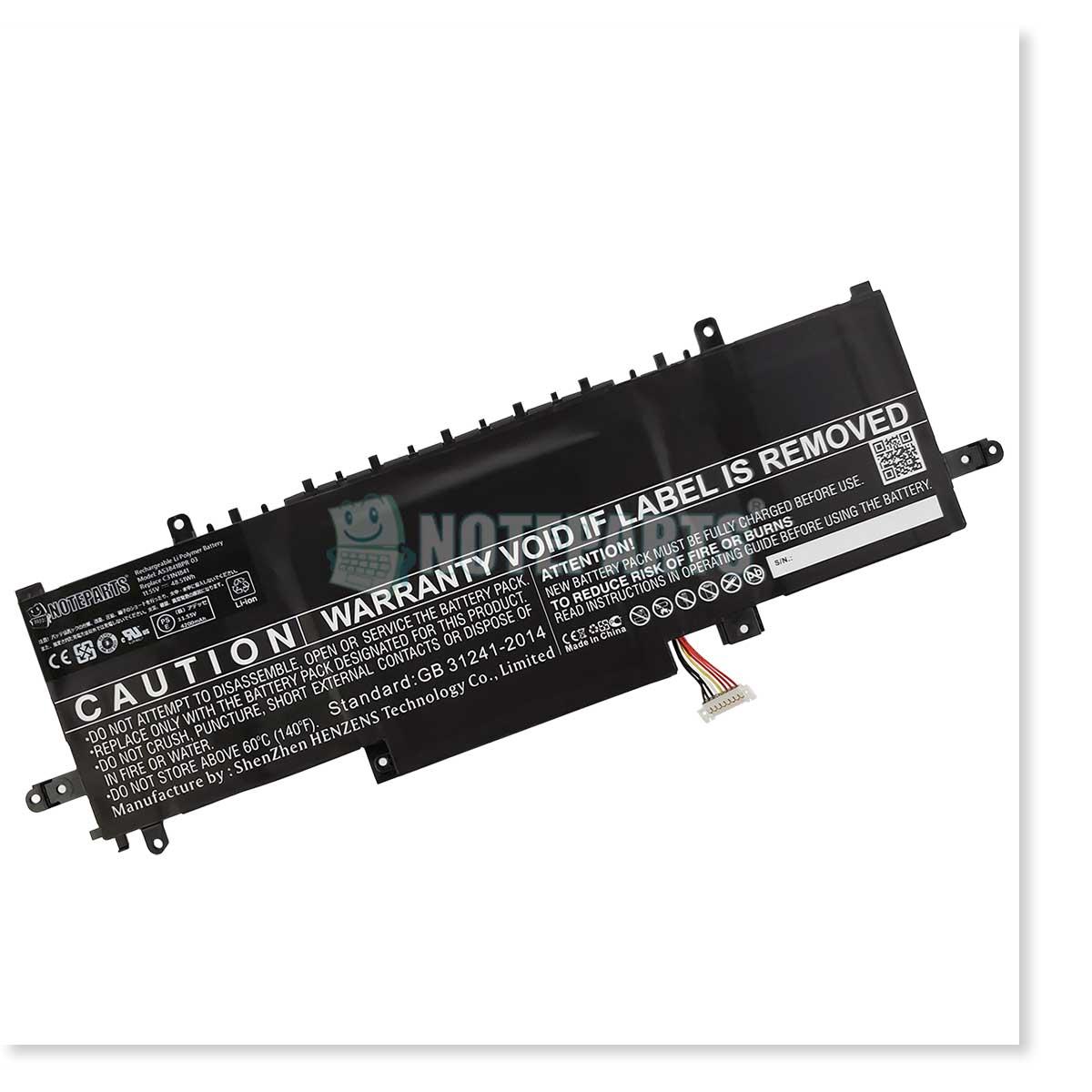 Asus エイスース ZenBook 13 UX334FAC UX334FL ZenBook 14 UX434FL バッテリー C31N1841対応