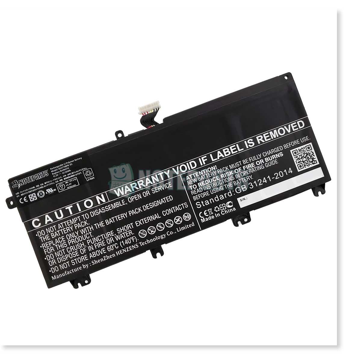 Asus エイスース ROG STRIX GL503GE GL703VM TUF Gaming FX705GM バッテリー B41N1711対応