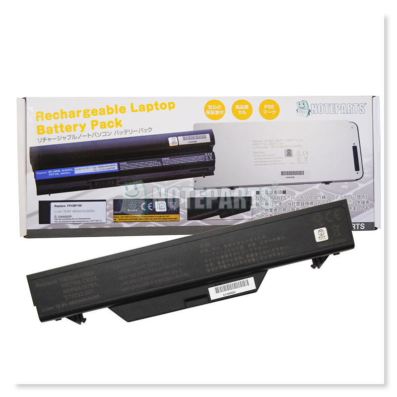 HP ProBook 4510s 4515s 4710s バッテリー 572032-001 HSTNN-OB88対応