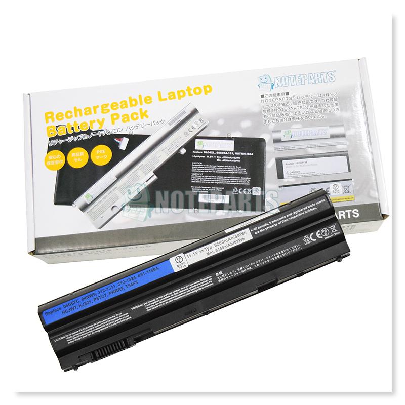 Dell デル Latitude E5420 E6420 Vostro 3560 Inspiron 15R バッテリー T54FJ T54F3 KJ321対応
