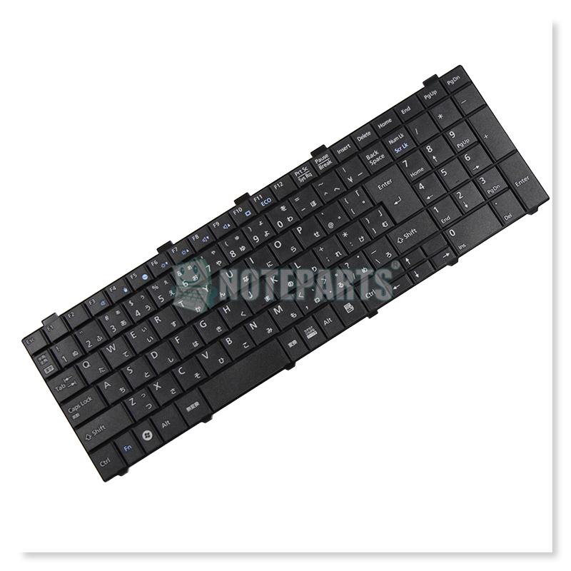 富士通 LIFEBOOK A530/AX AH30/H AH40/E AH42/C AH530/2B テンキー付きキーボード ブラック