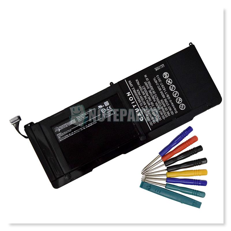"""Apple アップル MacBook Pro 17"""" MC725J/A MD311J/A A1297 (2011) バッテリー A1383対応"""