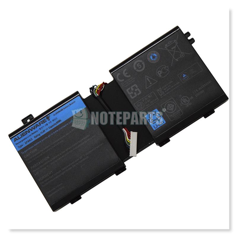 Dell純正 デル Alienware M17x R5 M18x R3 バッテリー 2F8K3 KJ2PX G33TT