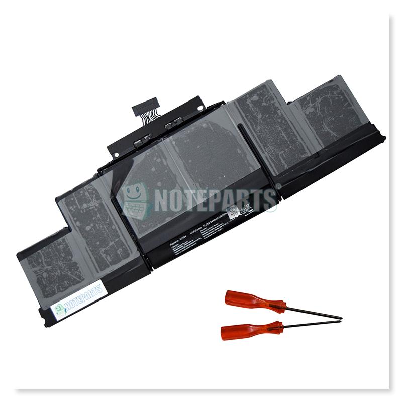 """Apple アップル MacBook Pro 15"""" Retina A1398 (Late 2013/Mid 2014) ME293 ME294 バッテリー A1494対応"""
