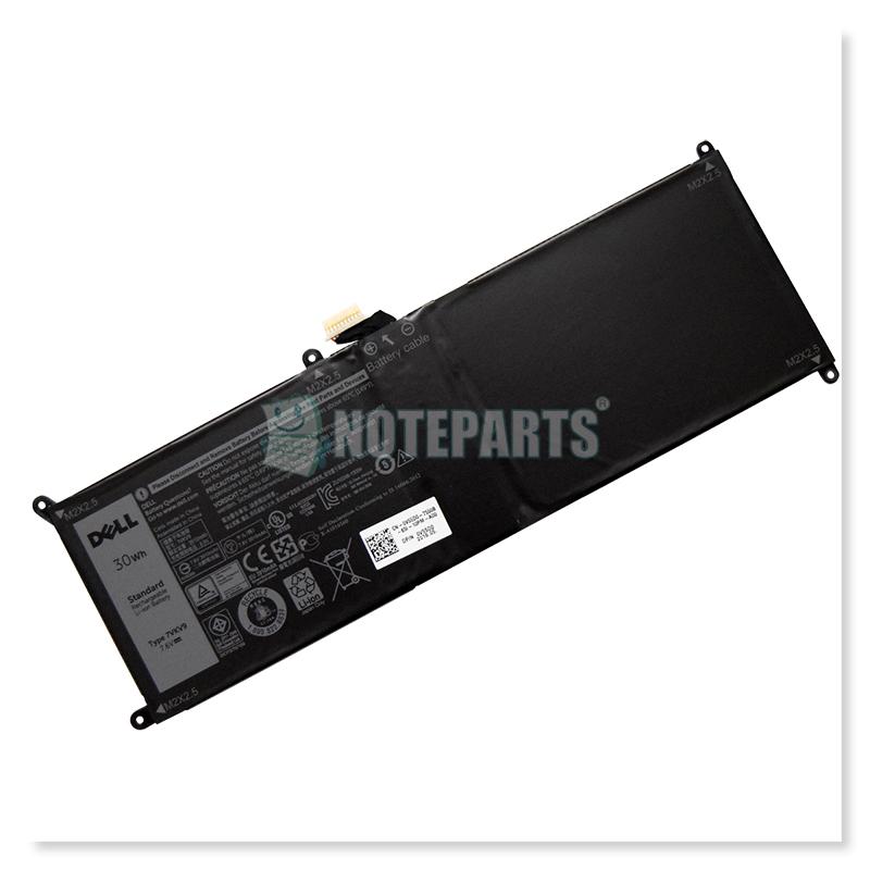 Dell純正 デル XPS 12 9250 Latitude 12 7275 バッテリー 9TV5X 7VKV9