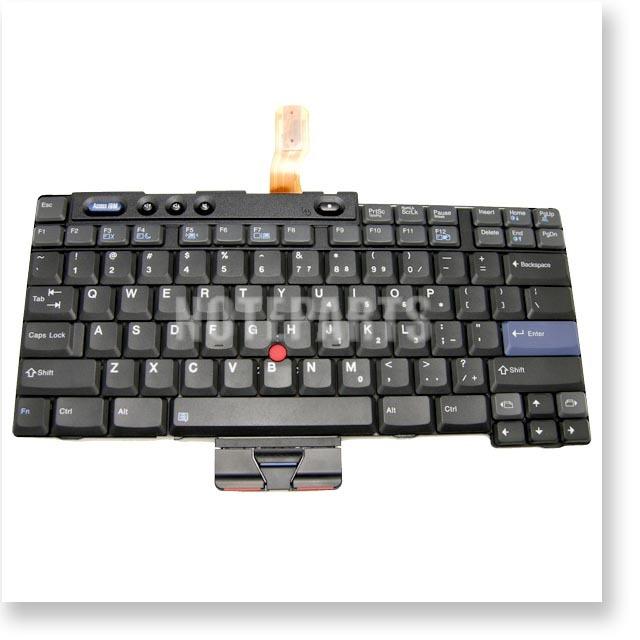 IBM ThinkPad T40 R50 シリーズ 15.0型用 英語キーボード 39T0765