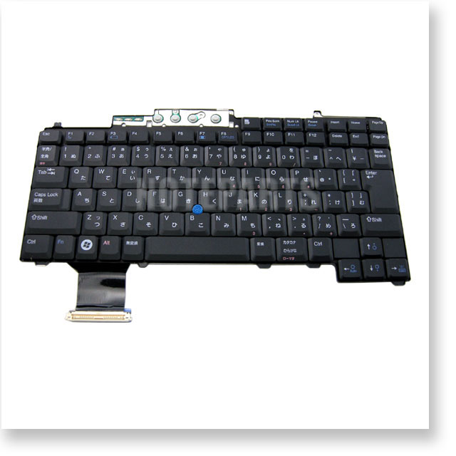 Dell Latitude D620 D630 D820 D830 Precision M65 日本語キーボード