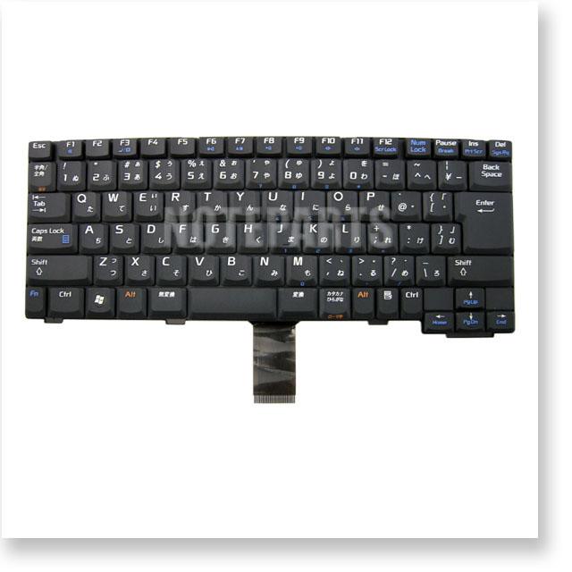 NEC LaVie LL550/TG6B LL550/TG6R シリーズ 日本語キーボード ブラック