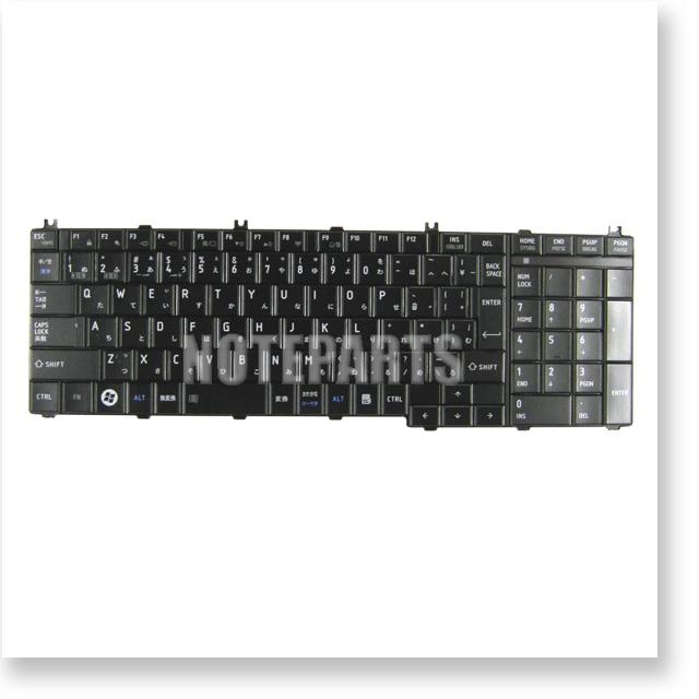 東芝 dynabook dynabook Satellite BX/EX/TX テンキー付き 日本語キーボード ブラック