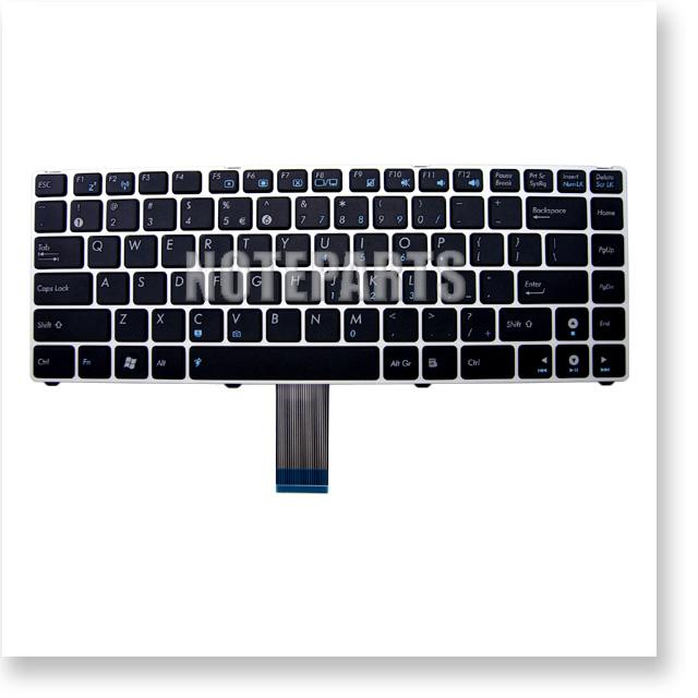 Asus Eee PC 1201HA 1201N 1201T 英語キーボード シルバー