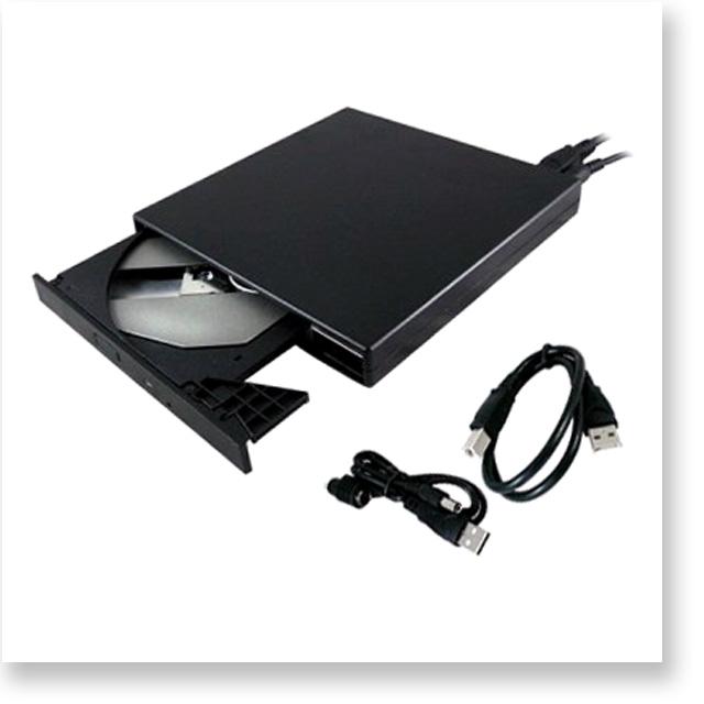 外付けスリムDVDスーパーマルチドライブ USB給電タイプ