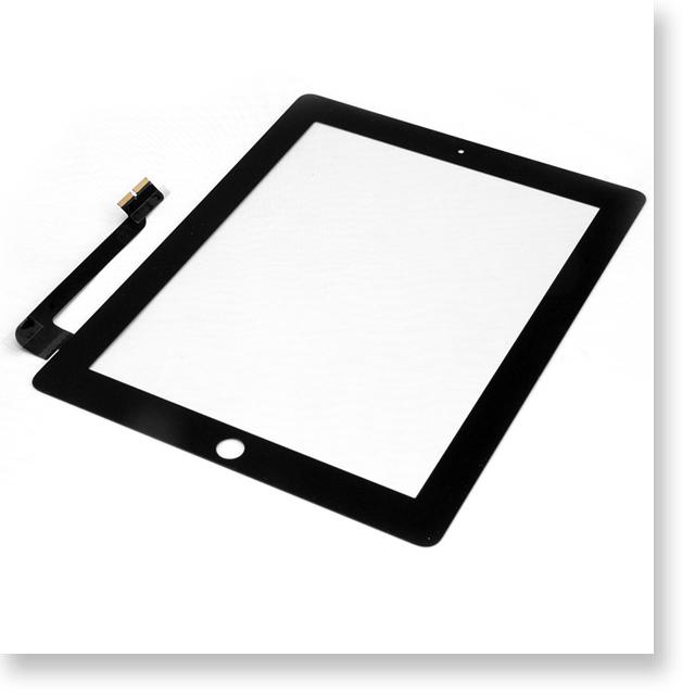 Apple iPad 3  9.7インチ デジタイザー・タッチパネル ブラック