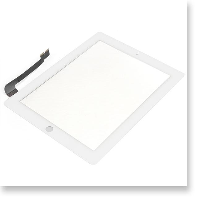 Apple iPad 3  9.7インチ デジタイザー・タッチパネル ホワイト