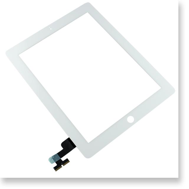 Apple iPad 2  9.7インチ デジタイザー・タッチパネル ホワイト