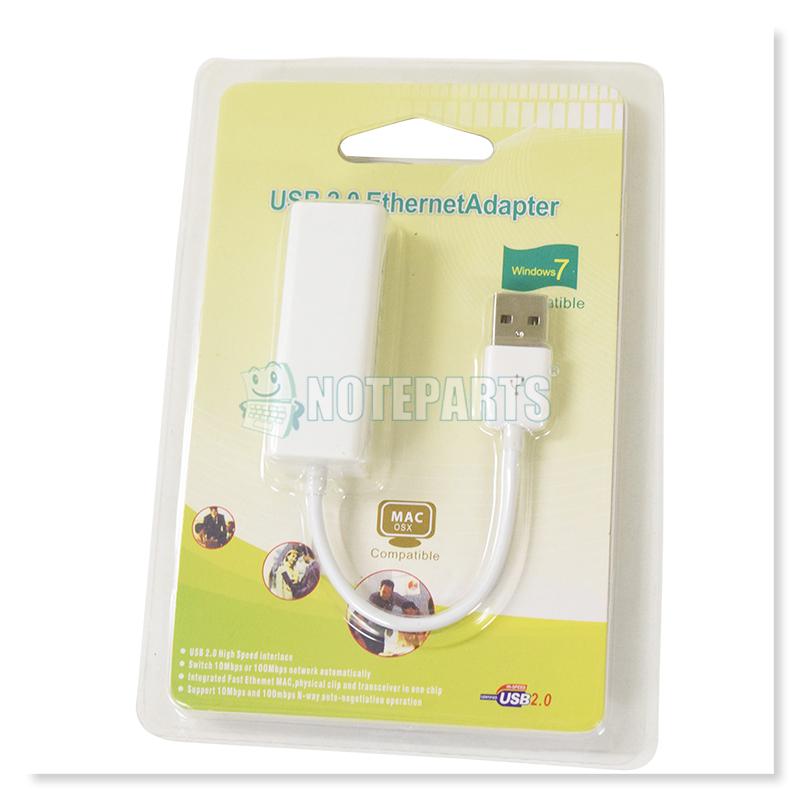 USB2.0 10/100 LANアダプター Win/Mac/Linux対応