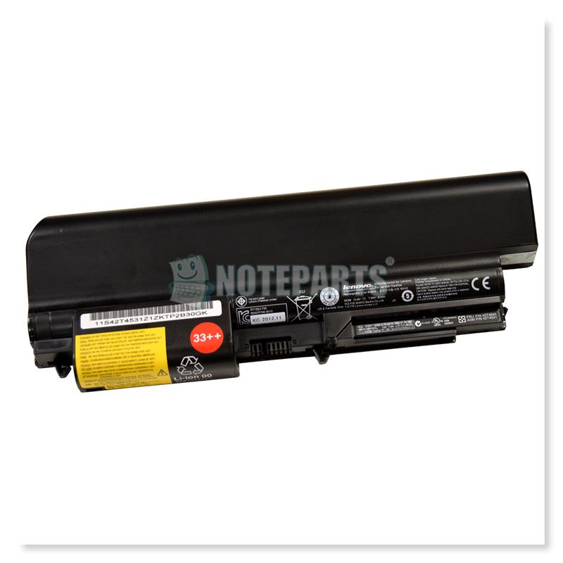 Lenovo純正 レノボ ThinkPad T61 R61 T400 R400 14インチワイド用 9セル大容量バッテリー 43R2499