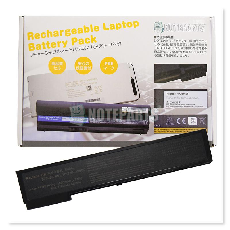 HP EliteBook 2170p 4セル バッテリー MI04 HSTTN-W90C HSTTN-YB3L対応