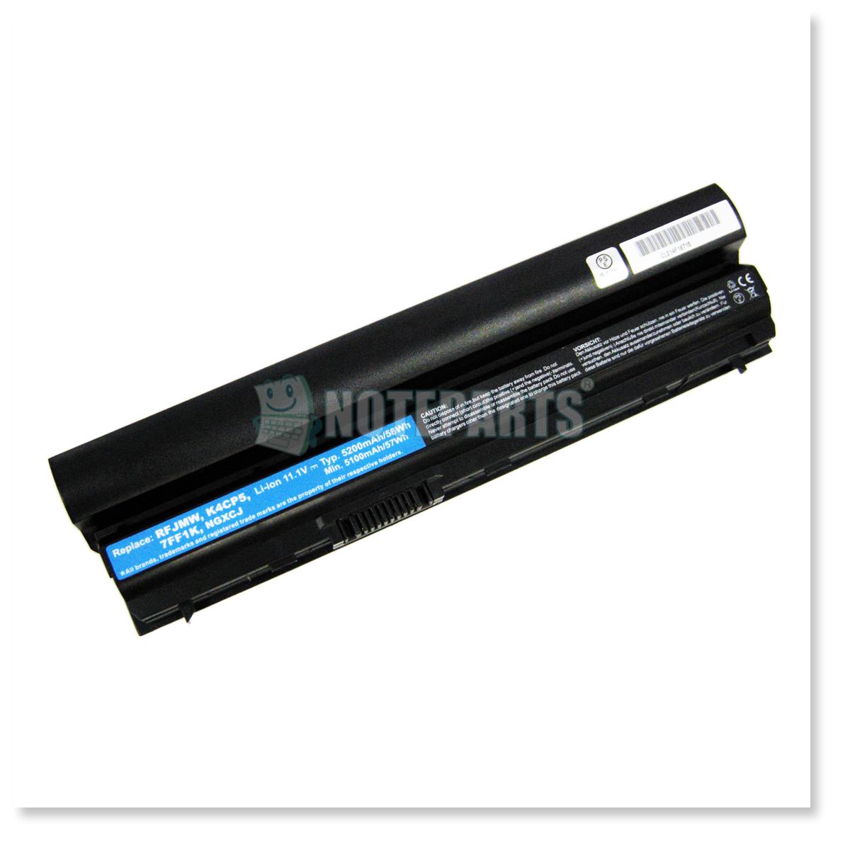 Dell デル Latitude E6120 E6230 E6320 6セル バッテリー 09K6P 11HYV 312-1241 WJ38対応