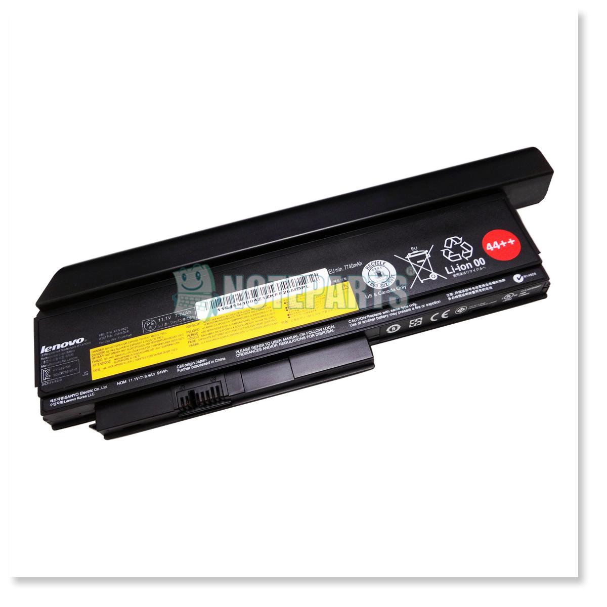 Lenovo純正 レノボ ThinkPad バッテリー 44++ (9セル) X230 0A36307