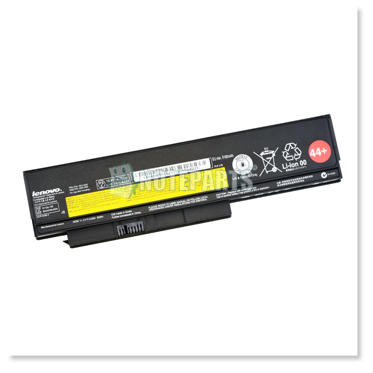 Lenovo純正 ThinkPad バッテリー 44+ (6セル) X230 0A36306